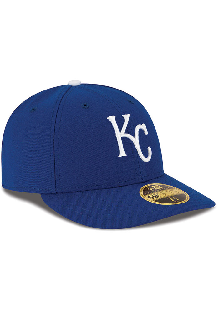 New Era Kansas City Royals Mens Blue 59FIFTY Fitted Hat - Image 2