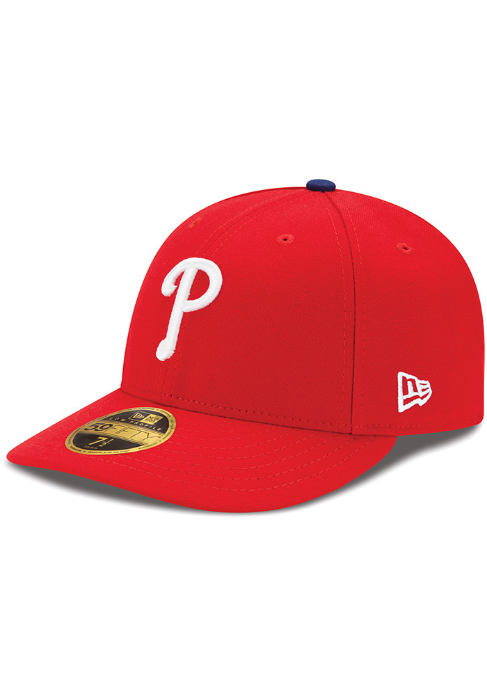 New Era Philadelphia Phillies Mens Red AC Game LC 59FIFTY Fitted Hat - Image 1