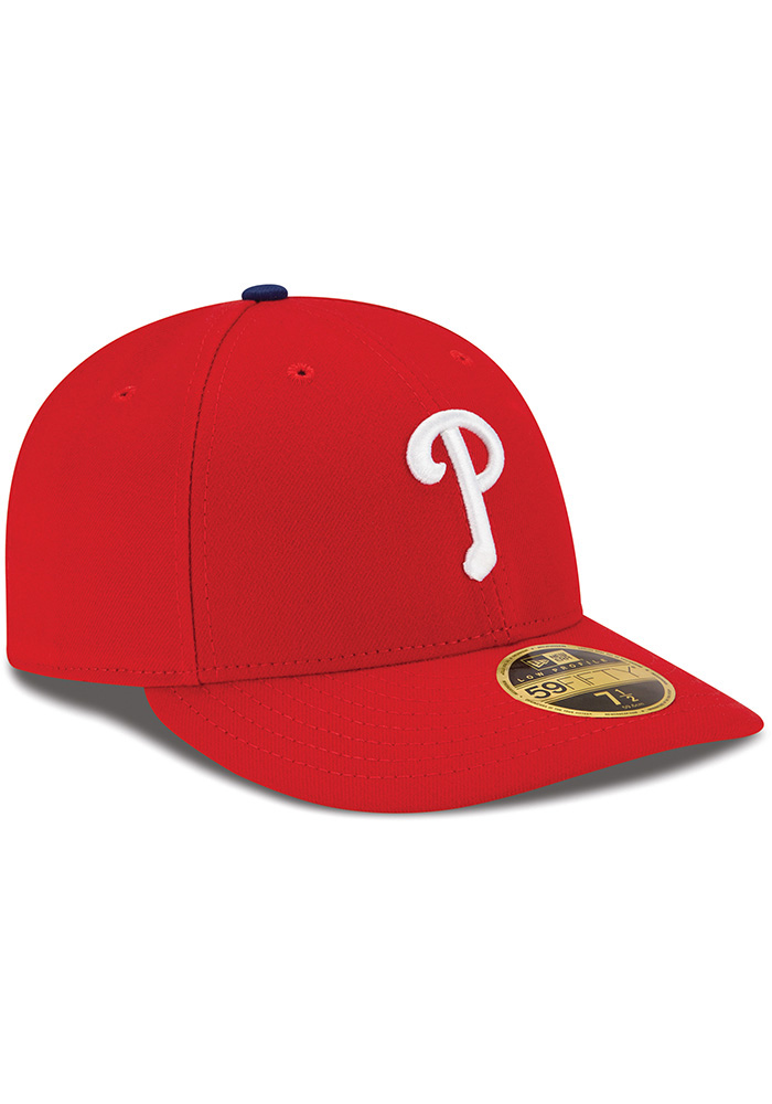 New Era Philadelphia Phillies Mens Red AC Game LC 59FIFTY Fitted Hat - Image 2
