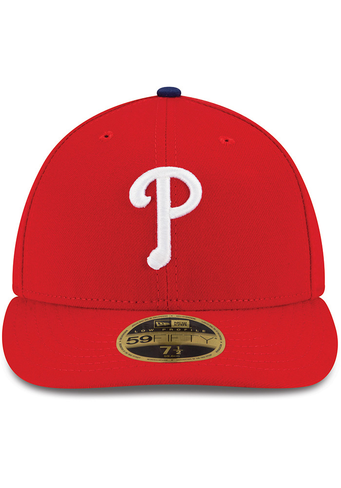 New Era Philadelphia Phillies Mens Red AC Game LC 59FIFTY Fitted Hat - Image 3
