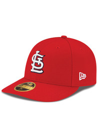 100% authentic 34c89 75aa2 St Louis Cardinals New Era Red 59FIFTY Fitted Hat