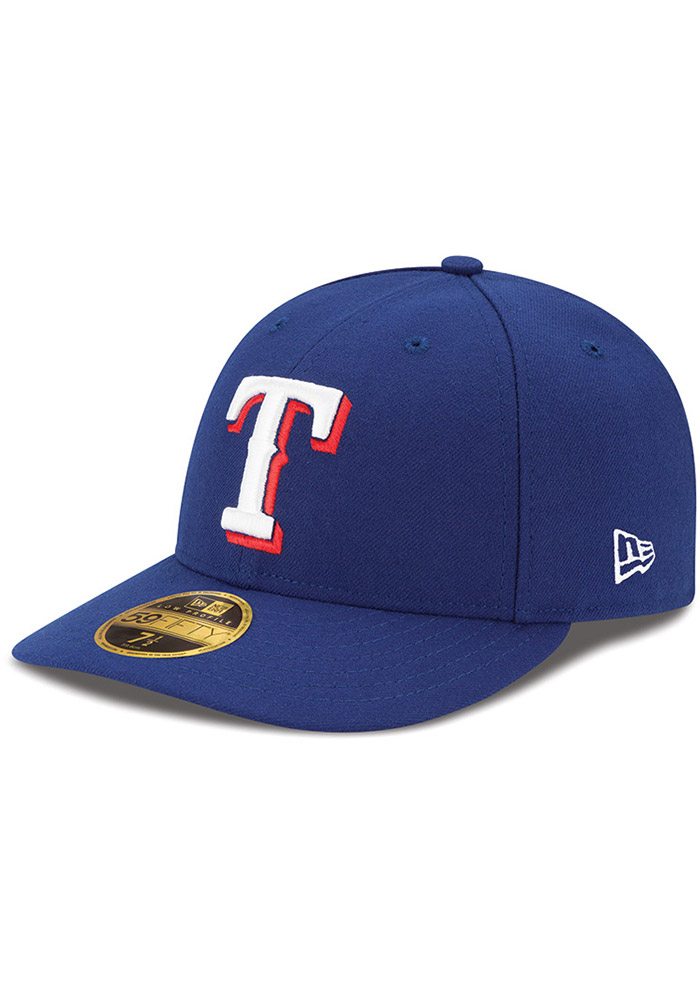 New Era Texas Rangers Mens Blue AC Game LC 59FIFTY Fitted Hat - Image 1