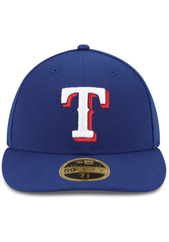 New Era Texas Rangers Mens Blue AC Game LC 59FIFTY Fitted Hat - Image 3