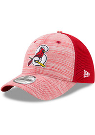 Springfield Cardinals New Era Tonal Tint 39THIRTY Flex Hat - Red