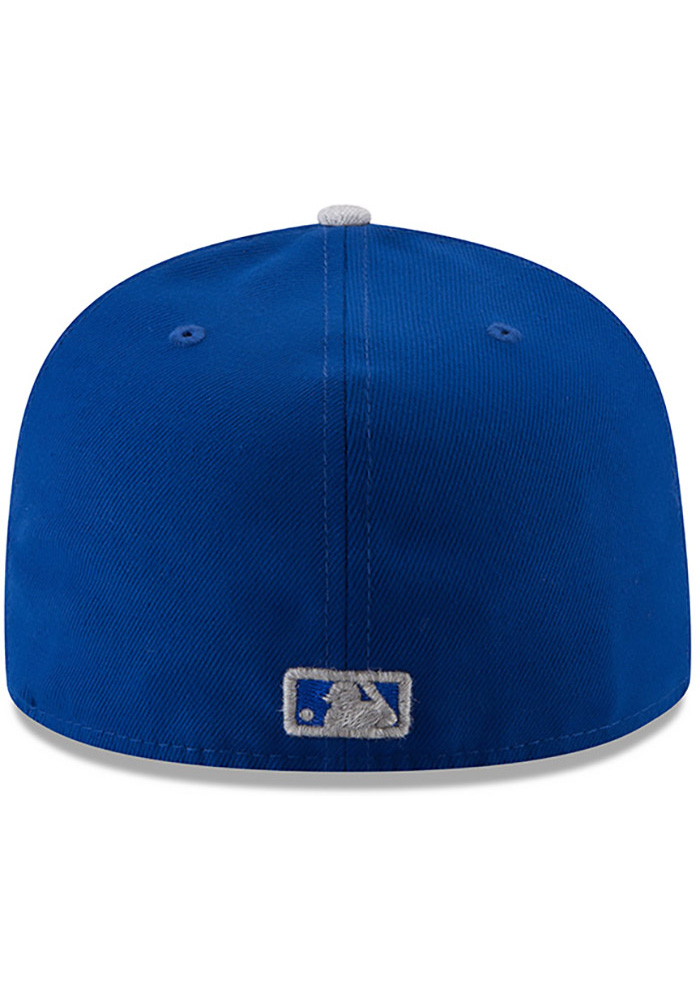 New Era Kansas City Royals Mens Blue Heather Fresh Fit 59FIFTY Fitted Hat - Image 5