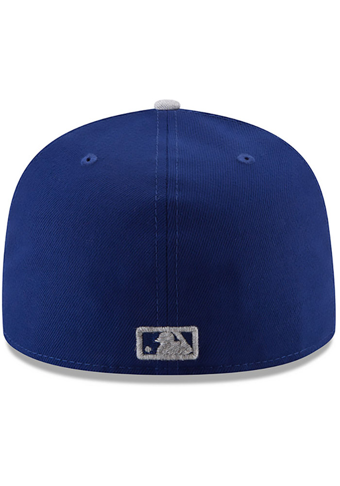New Era Texas Rangers Mens Blue Heather Fresh Fit 59FIFTY Fitted Hat - Image 5