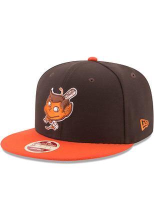 New Era St Louis Browns Brown Secondary Side 9FIFTY Snapback Hat