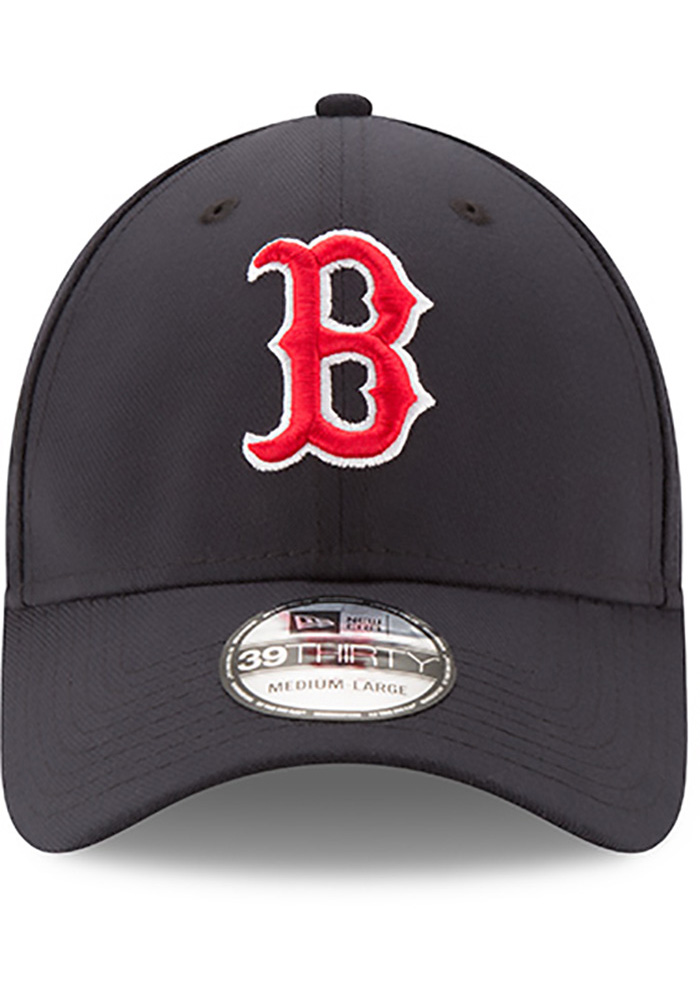 New Era Boston Red Sox Mens Navy Blue Team Classic 39THIRTY Flex Hat -  Image 3 fd277a90a9d7