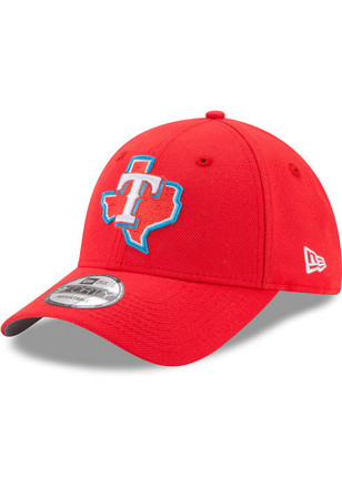 New Era Texas Rangers Mens Red Little League Classic 9FIFTY Adjustable Hat