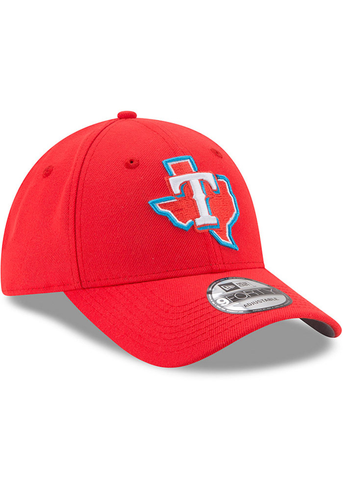 New Era Texas Rangers Little League Classic 9FIFTY Adjustable Hat - Red - Image 2