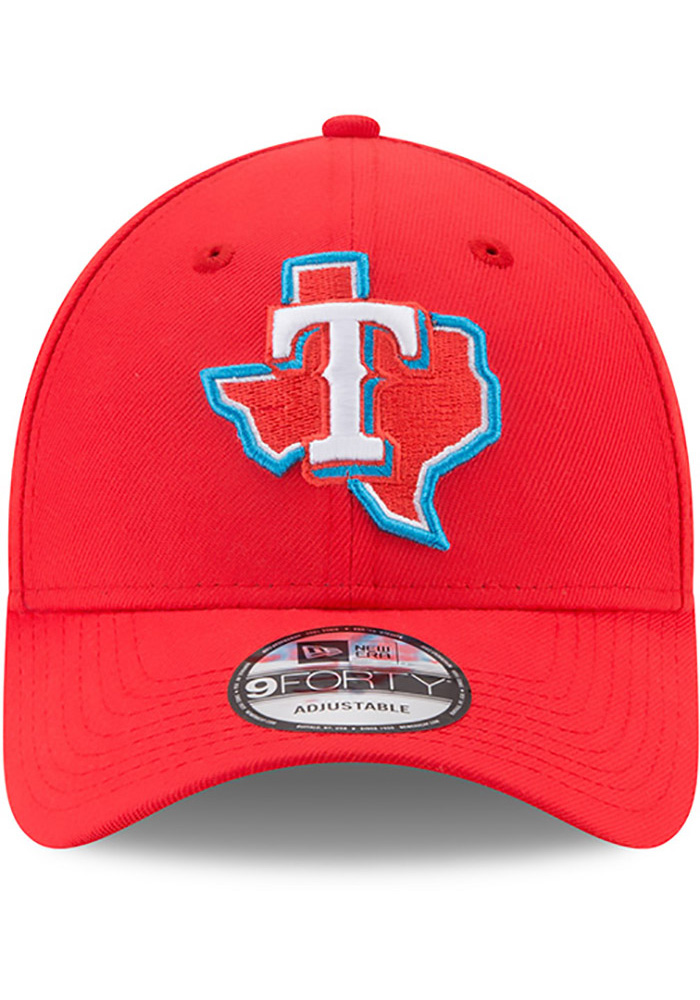 New Era Texas Rangers Little League Classic 9FIFTY Adjustable Hat - Red - Image 3