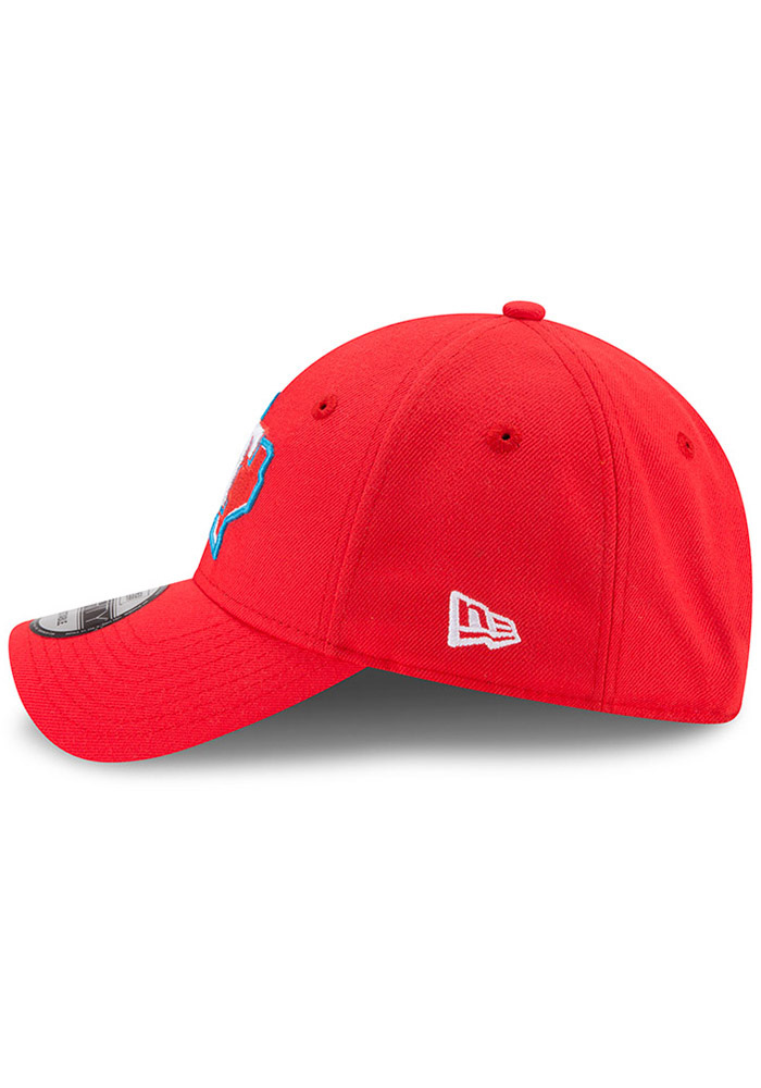 New Era Texas Rangers Little League Classic 9FIFTY Adjustable Hat - Red - Image 4