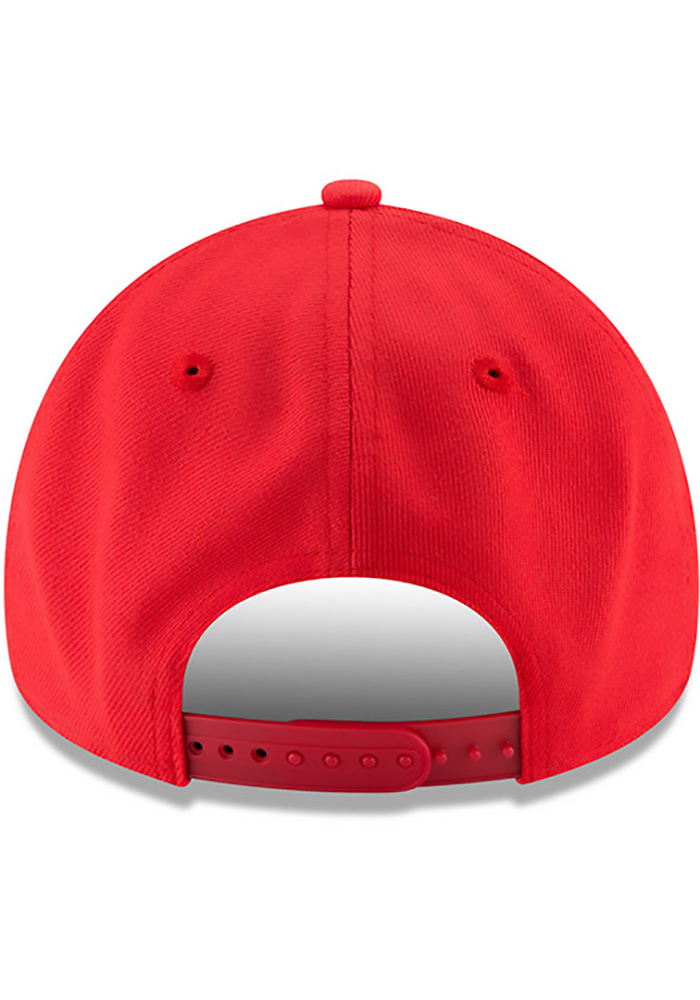 New Era Texas Rangers Little League Classic 9FIFTY Adjustable Hat - Red - Image 5