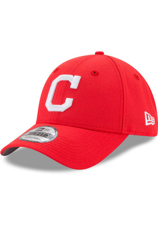 New Era Cleveland Indians Mens Red Little League Classic 9FIFTY Adjustable Hat