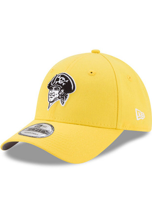 New Era Pittsburgh Pirates Mens Yellow Little League Classic 9FIFTY Adjustable Hat