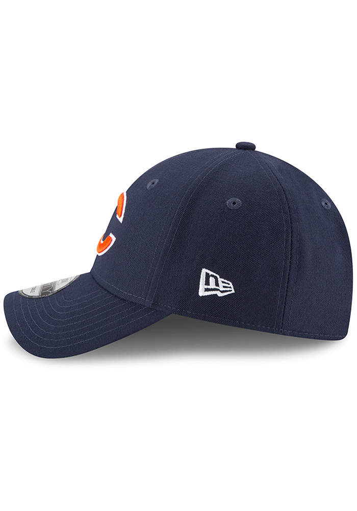 New Era Chicago Bears The League 9FORTY Adjustable Hat - Navy Blue - Image 4