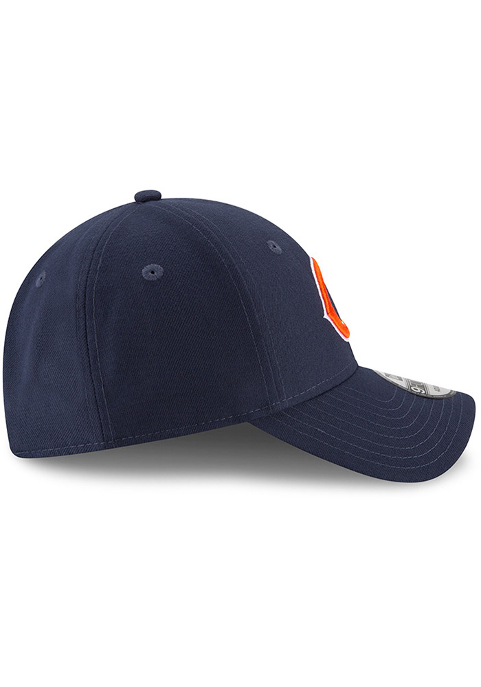 New Era Chicago Bears The League 9FORTY Adjustable Hat - Navy Blue - Image 6
