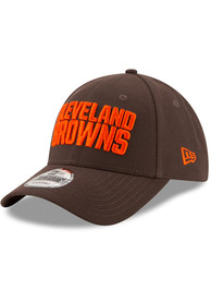 New Era Cleveland Browns The League 9FORTY Adjustable Hat - Brown