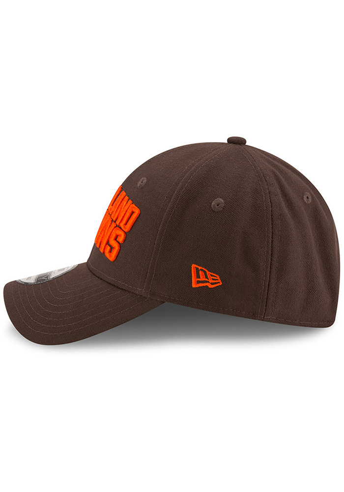 New Era Cleveland Browns The League 9FORTY Adjustable Hat - Brown - Image 4