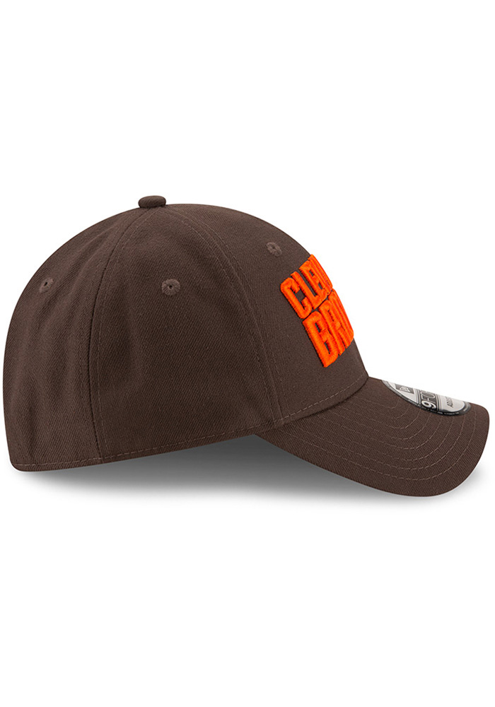 New Era Cleveland Browns The League 9FORTY Adjustable Hat - Brown - Image 6