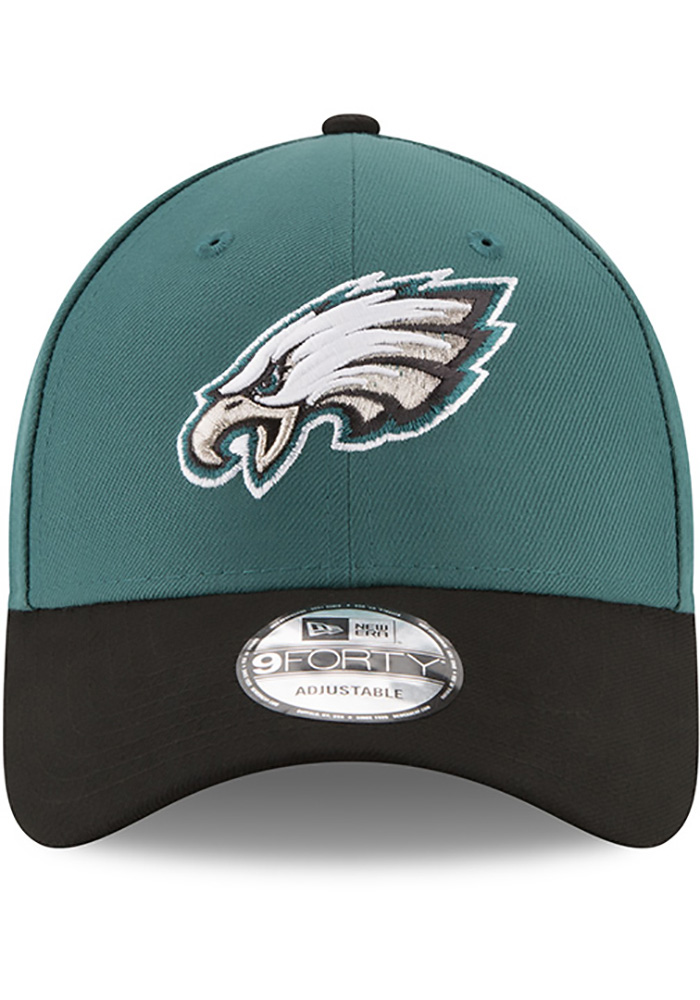 New Era Philadelphia Eagles The League 9FORTY Adjustable Hat - Midnight Green - Image 2