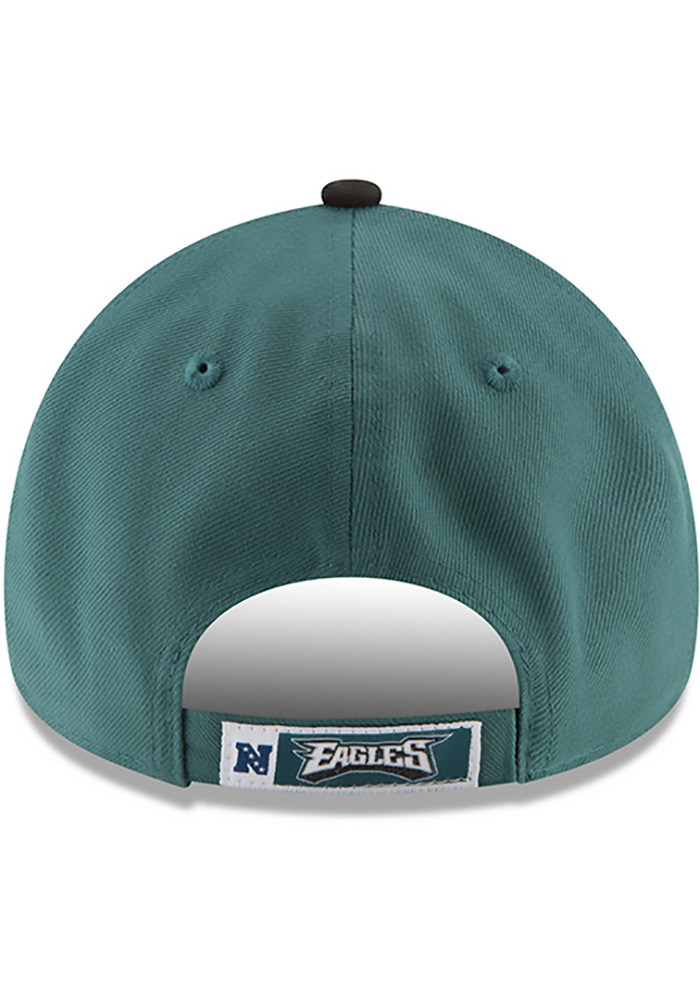 New Era Philadelphia Eagles The League 9FORTY Adjustable Hat - Midnight Green - Image 4