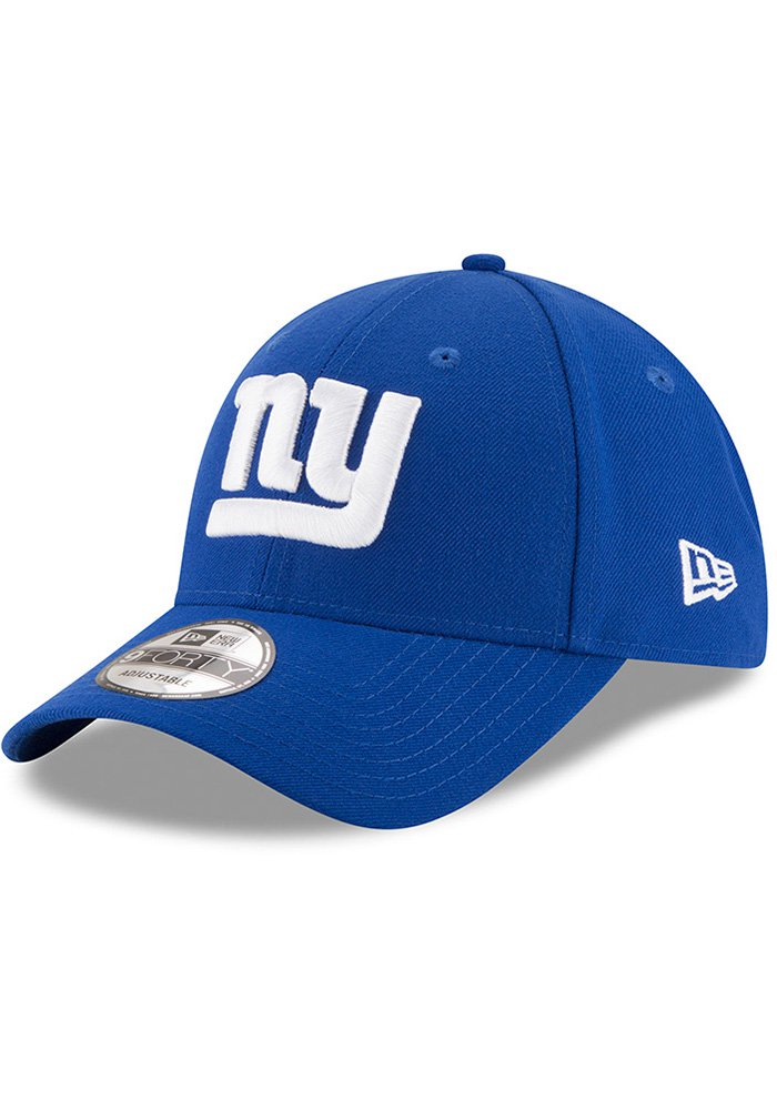 New Era New York Giants The League 9FORTY Adjustable Hat - Blue - Image 1