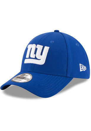 New Era New York Giants Mens Blue The League 9FORTY Adjustable Hat