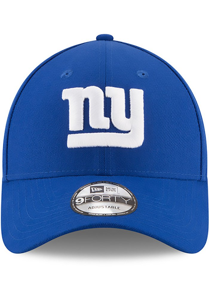 New Era New York Giants The League 9FORTY Adjustable Hat - Blue - Image 3