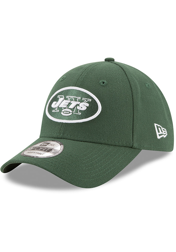 New Era New York Jets The League 9FORTY Adjustable Hat - Green - Image 1