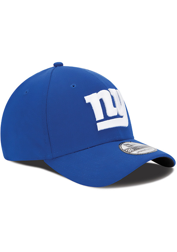 New Era New York Giants Mens Blue Team Classic 39THIRTY Flex Hat - Image 2