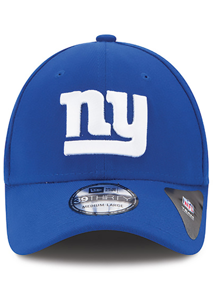 New Era New York Giants Mens Blue Team Classic 39THIRTY Flex Hat - Image 3
