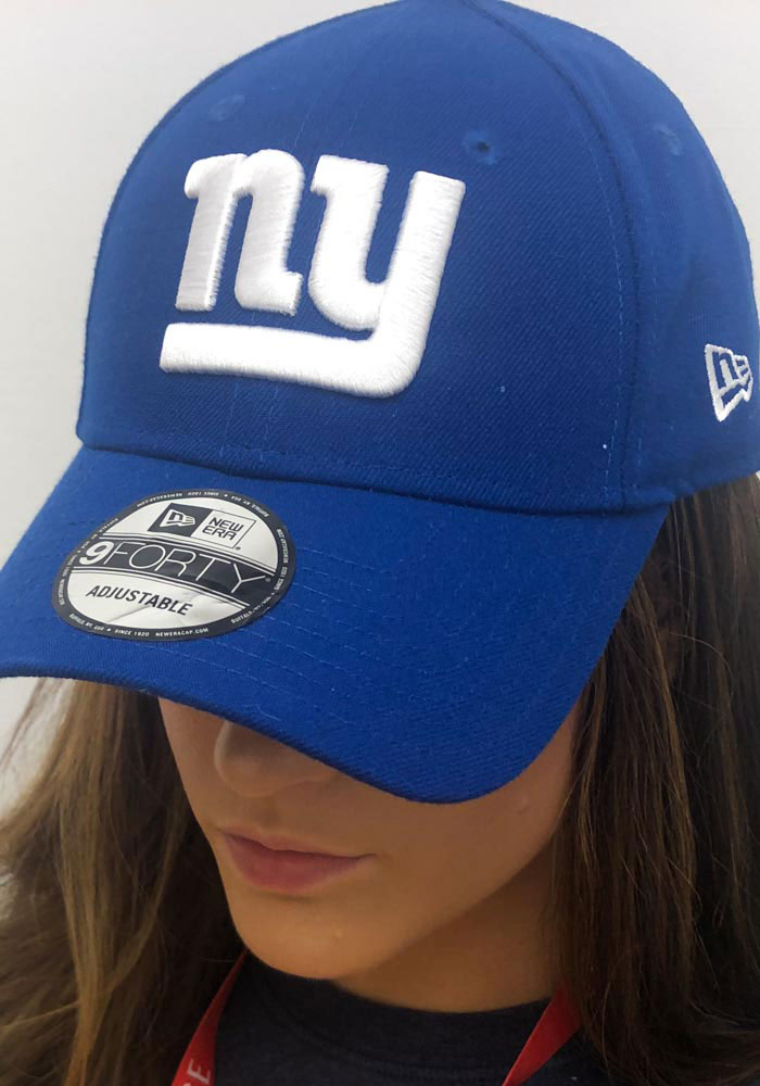 New Era New York Giants Mens Blue Team Classic 39THIRTY Flex Hat - Image 5