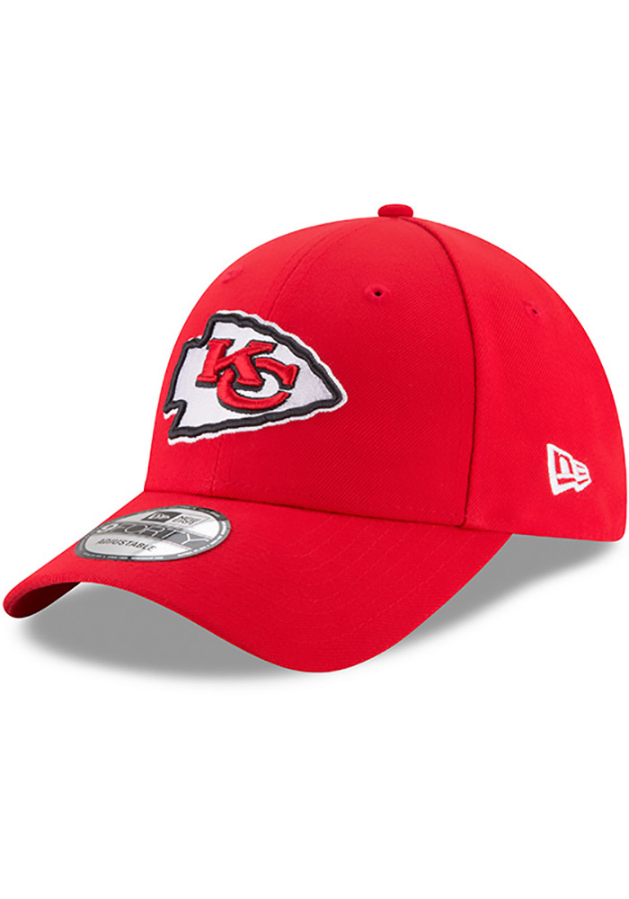 Kansas City Chiefs Red Jr The League 9FORTY Youth Adjustable Hat - Image 1