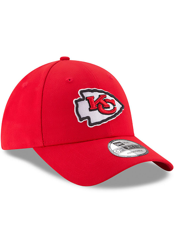 Kansas City Chiefs Red Jr The League 9FORTY Youth Adjustable Hat - Image 2