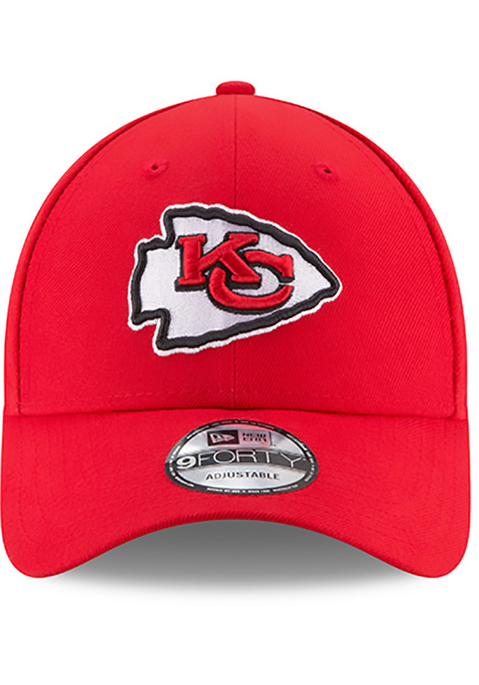 Kansas City Chiefs Red Jr The League 9FORTY Youth Adjustable Hat - Image 3