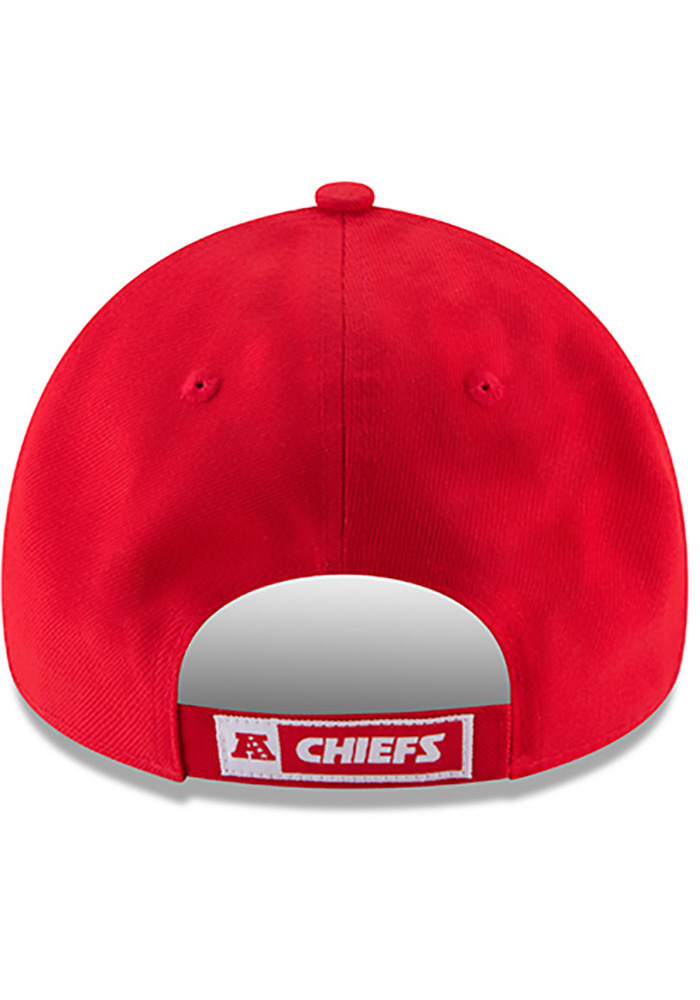 Kansas City Chiefs Red Jr The League 9FORTY Youth Adjustable Hat - Image 5