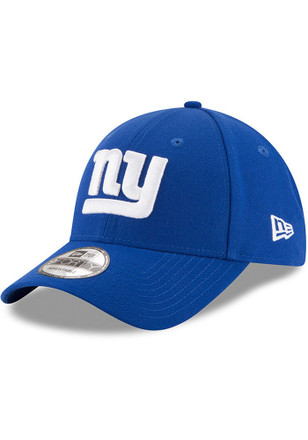 New Era New York Giants Blue Jr The League 9FORTY Kids Adjustable Hat