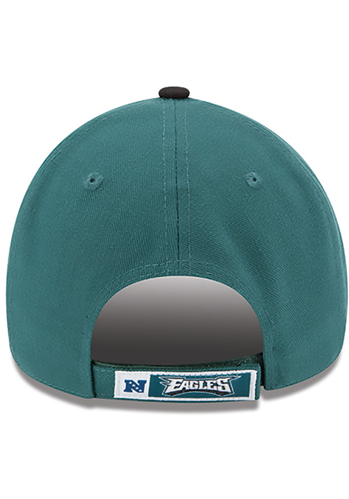 Philadelphia Eagles Midnight Green Jr The League 9FORTY Youth Adjustable Hat - Image 4