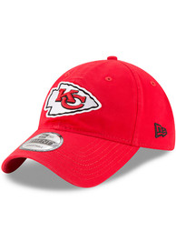 Kansas City Chiefs New Era Core Classic 9TWENTY Adjustable Hat - Red