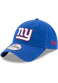 New Era New York Giants Core Classic 9TWENTY Adjustable Hat - Blue