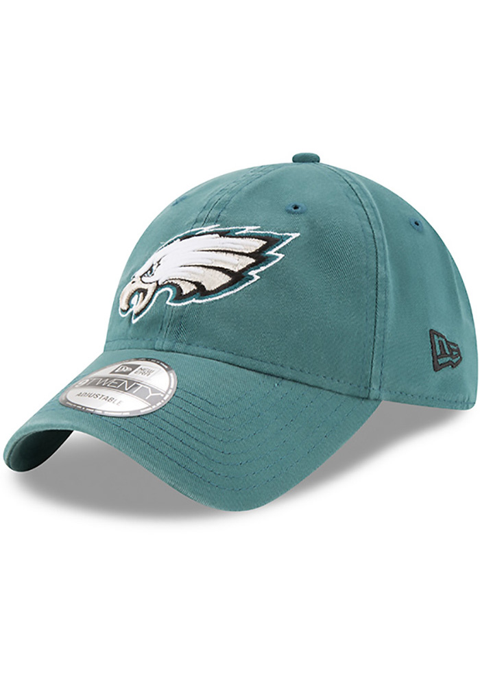 New Era Philadelphia Eagles Core Classic 9TWENTY Adjustable Hat - Midnight Green - Image 1