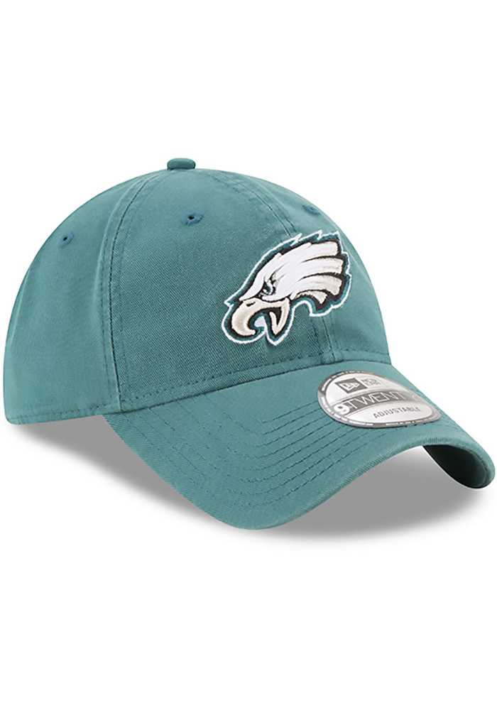 New Era Philadelphia Eagles Core Classic 9TWENTY Adjustable Hat - Midnight Green - Image 2