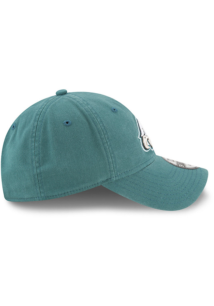 New Era Philadelphia Eagles Core Classic 9TWENTY Adjustable Hat - Midnight Green - Image 6