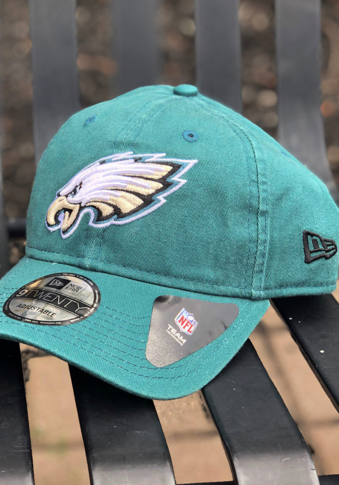 New Era Philadelphia Eagles Core Classic 9TWENTY Adjustable Hat - Midnight Green - Image 7