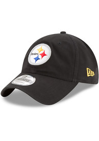 New Era Pittsburgh Steelers Core Classic 9TWENTY Adjustable Hat - Black
