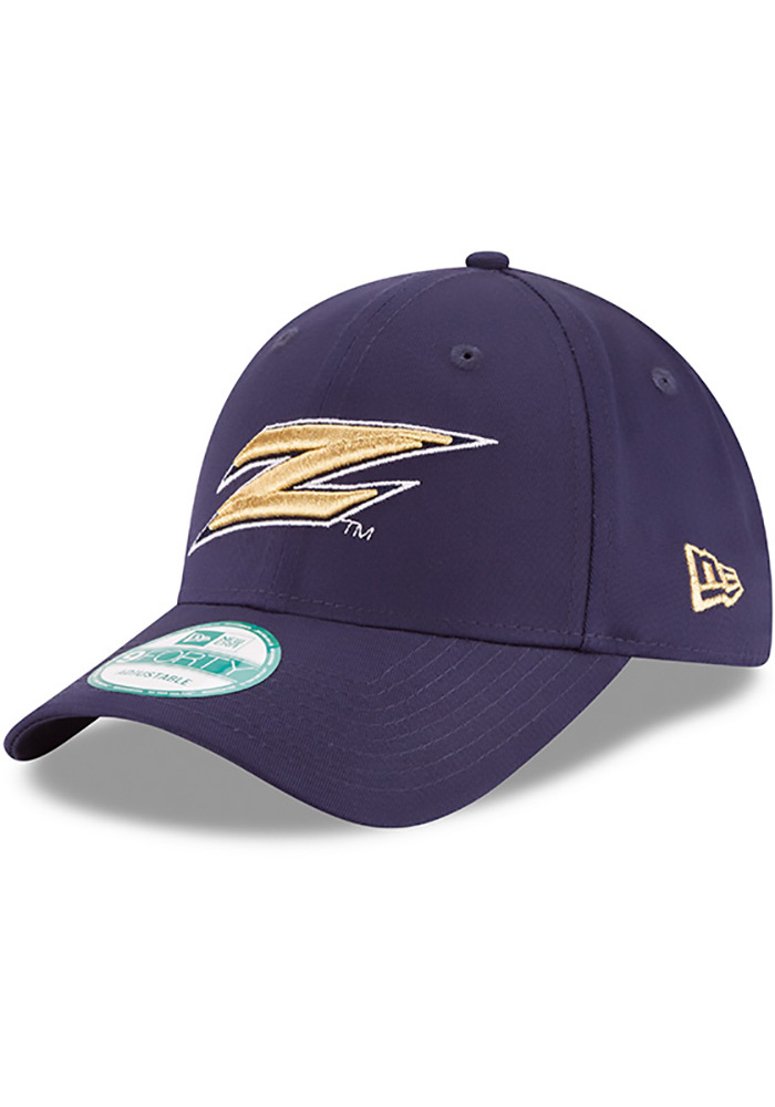 Akron Zips New Era The League 9FORTY Adjustable Hat - Navy Blue