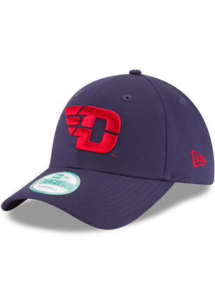 New Era Dayton Flyers Mens Navy Blue The League 9FORTY Adjustable Hat