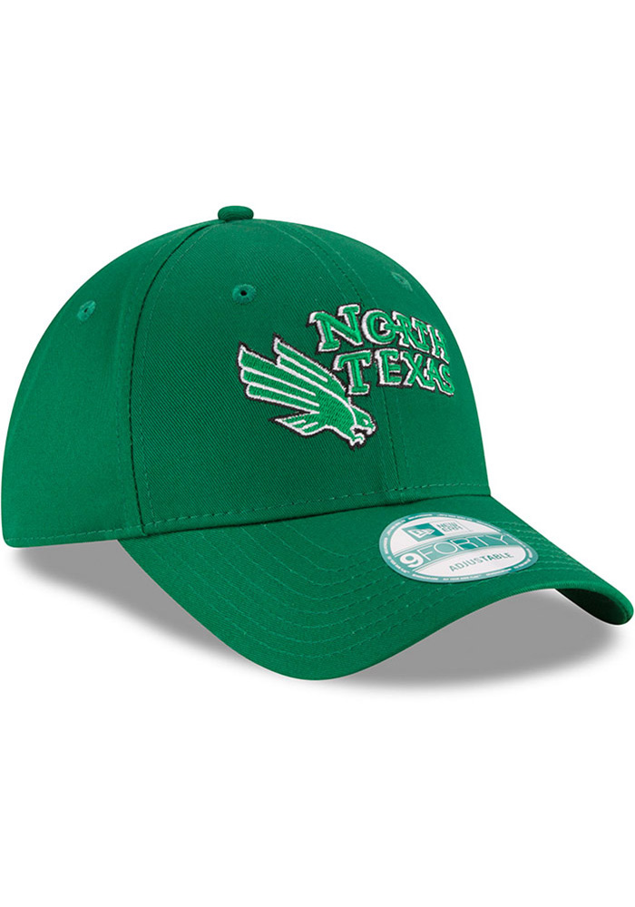New Era North Texas Mean Green The League 9FORTY Adjustable Hat - Green - Image 2
