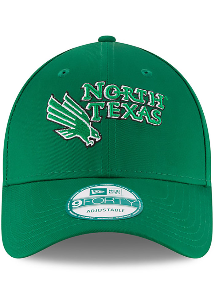 New Era North Texas Mean Green The League 9FORTY Adjustable Hat - Green - Image 3